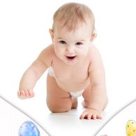 孕婴护理广告海报PSD