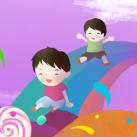 欢乐童年六一儿童节海报