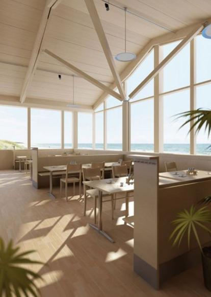 木屋餐厅3D模型截图0