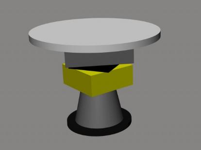 圆桌3D模型截图0