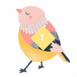 2020可爱卡通小鸟PPT模板