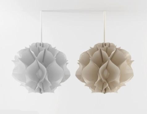 现代吊灯3d模型截图0