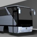 奔驰巴士3D模型