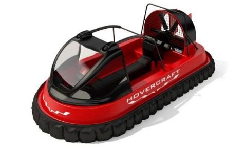 充气船3D模型截图0