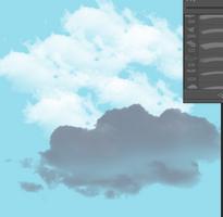 蓝天白云各种云朵ps笔刷免费版整合版