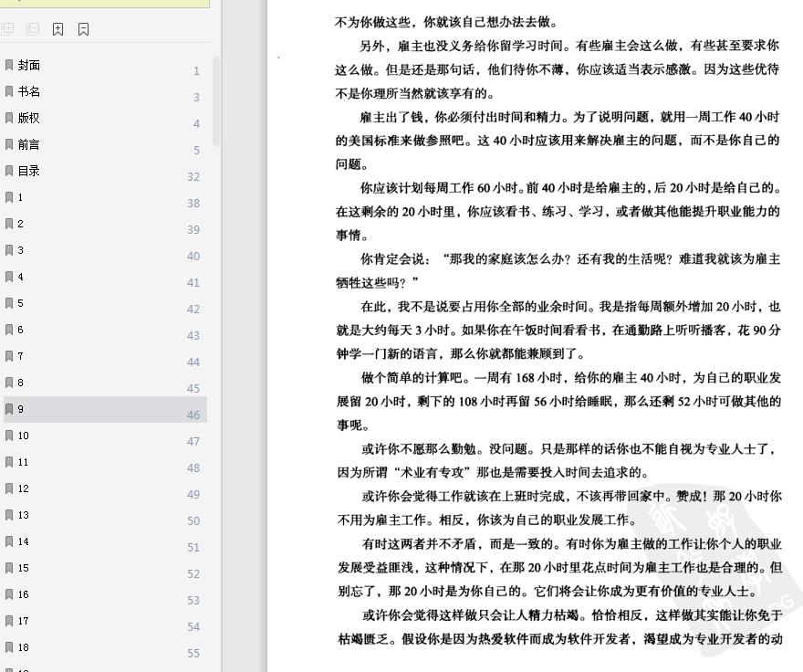程序员的职业素pdf全文在线截图5
