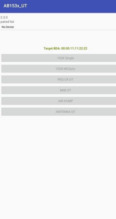 洛达芯片检测工具AB153x_UT最新版截图0