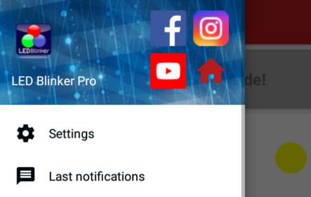 LED Blinker Pro消息提醒