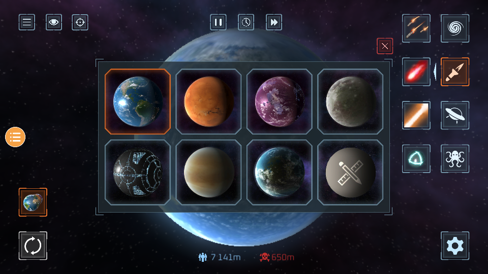行星粉碎模拟器手游