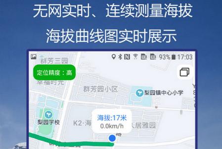 GPS海拔指南针