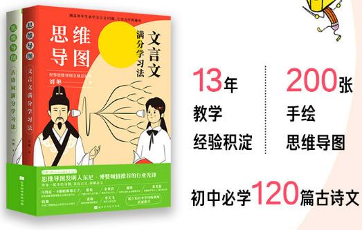 思维导图:古诗文满分学习法(全2册)PDF电子书下载