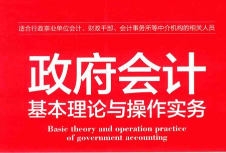 政府会计基本理论与操作实务pdf在线阅读