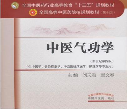 中医气功学第十版pdf