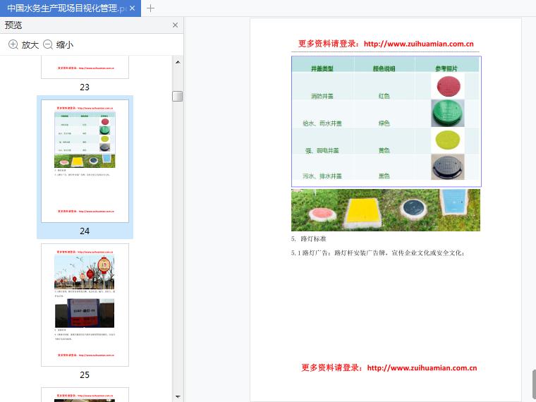 中国水务生产现场目视化管理pdf电子版截图2