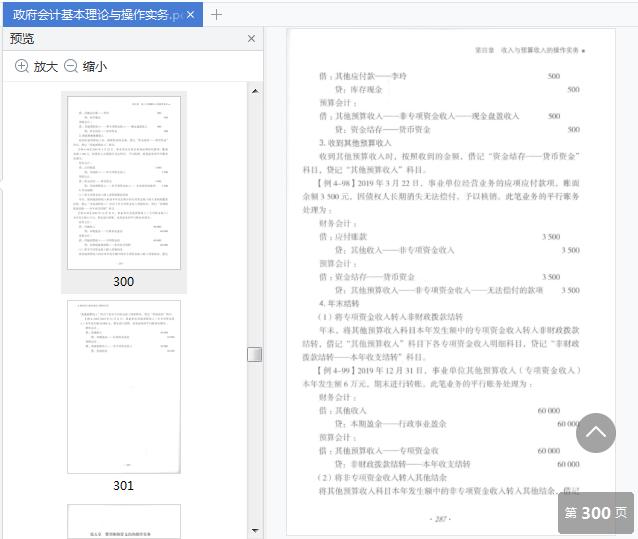 政府会计基本理论与操作实务pdf在线阅读截图2