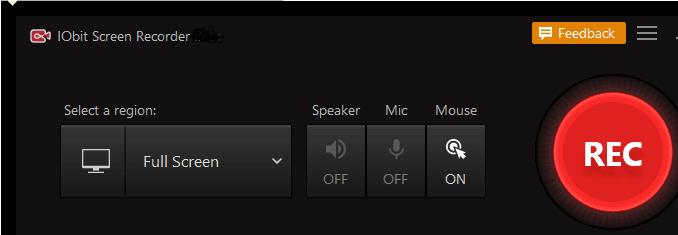 IObit Screen Recorder高清录屏软件截图0