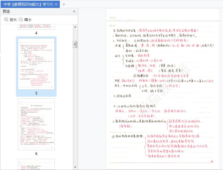 中学教育知识与能力学习笔记pdf电子版截图1