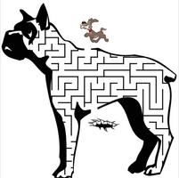 儿童迷宫游戏图片107页pdf可打印版