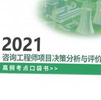 2021咨询工程师项目决策分析与评价高频考点口袋书pdf