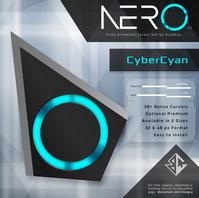 赛博青Nero光标鼠标指针主题普通版+高级版