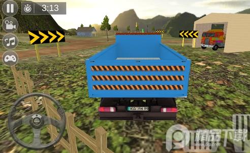 宝宝玩具卡车模拟驾驶游戏