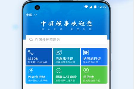 中国领事app