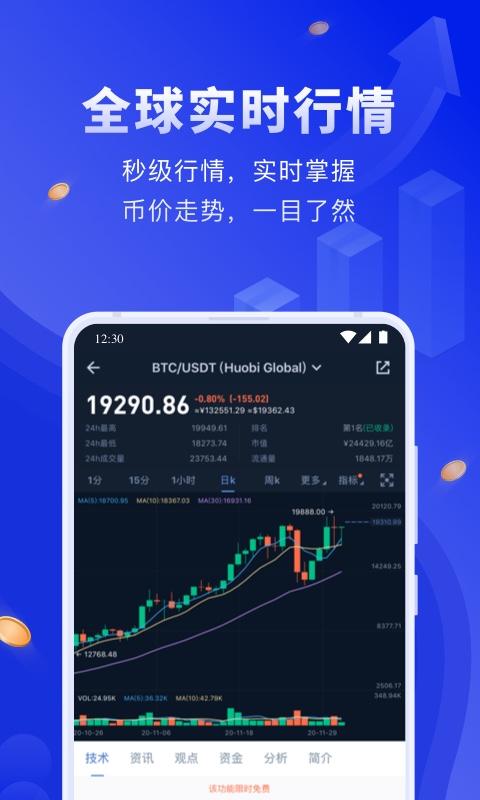 币世界app下载最新版本截图1