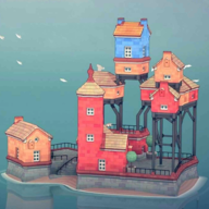 水乡小镇Townscaper破解版1.0.0 安卓免广告版